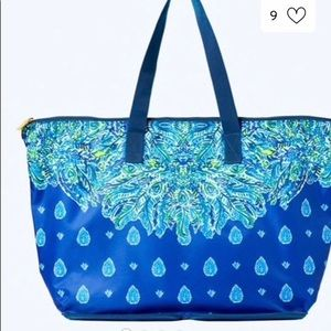 Lilly Pulitzer Getaway Packable Tote NWT